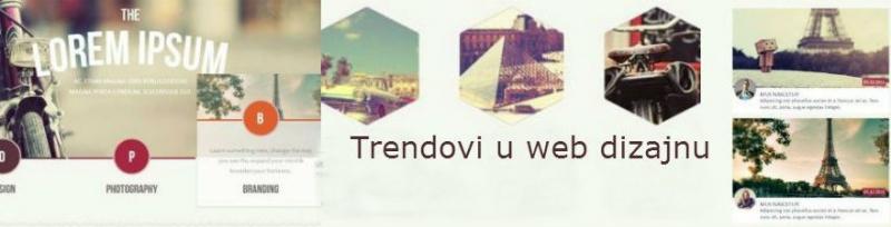 Novi (i pomalo starih) trendova u web dizajnu