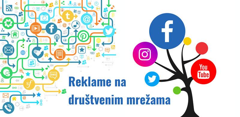 Reklame na društvenim mrežama - stub digitalnog oglašavanja