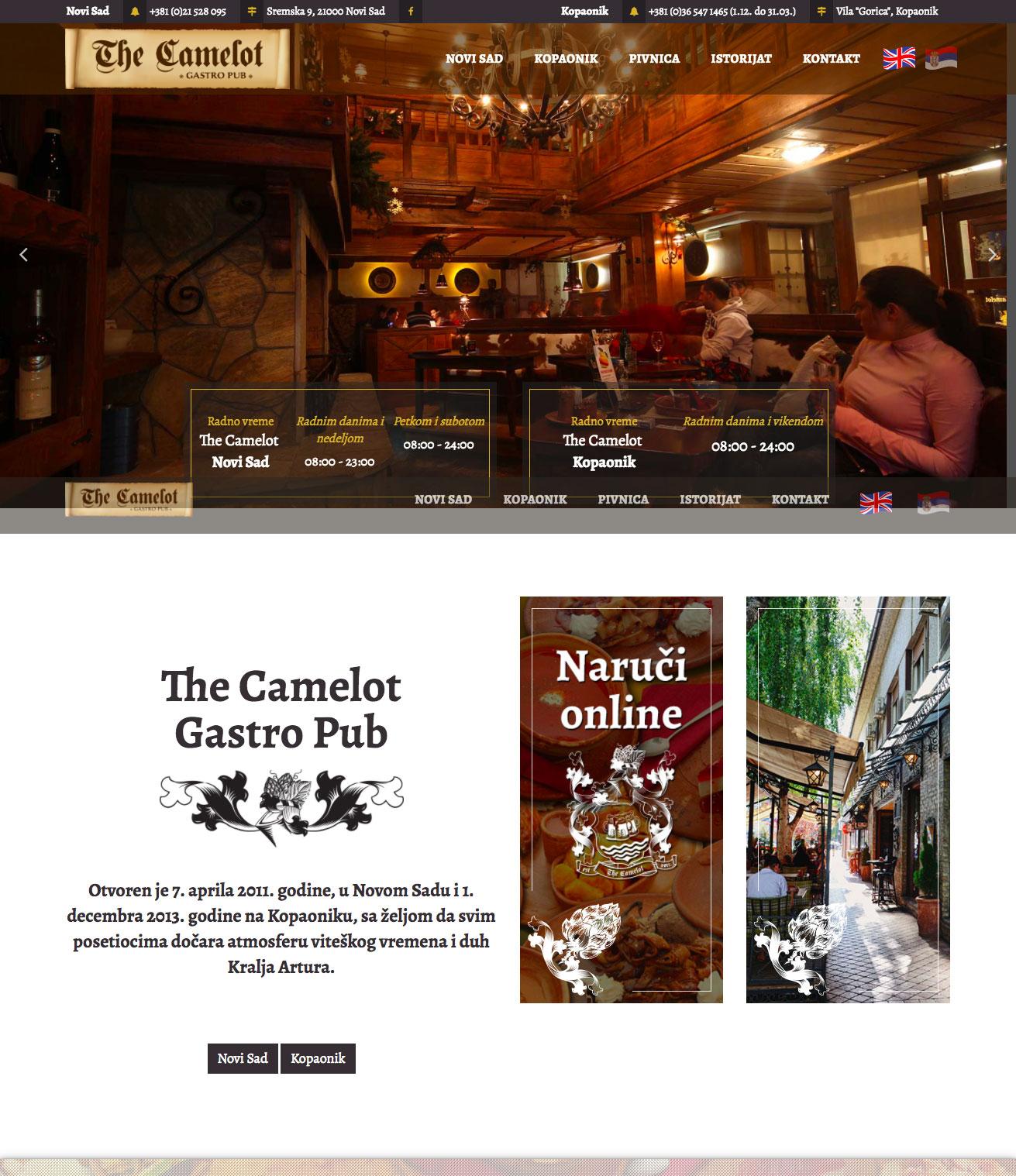 The Camelot - Restoran za viteze
